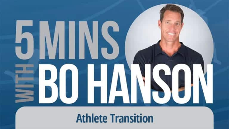 5 Minutes With Bo Hanson Athlete Transition
